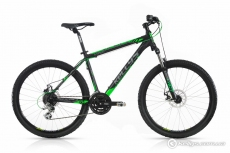 Фото Велосипед Kellys 2017 Viper 30 Black Green (27.5˝) 21.5˝