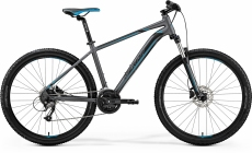 "Фото Велосипед Merida BIG.SEVEN 40-D M(17"") MATT DARK SILVER(BLUE/BLK)"